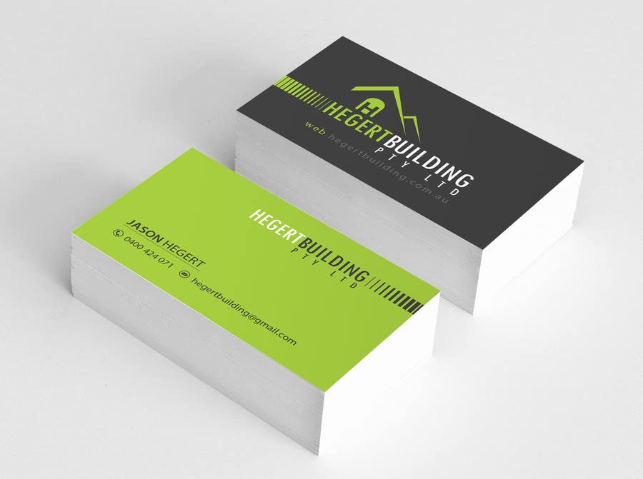 Entry #112 by abhilashkp33 for Design some Business Cards Hegert ...