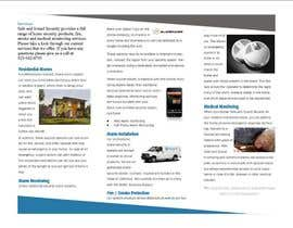 #35 cho Brochure Design for Safe and Sound Security bởi AbidaRabbani
