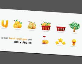 Decafe tarafından Icon or Button Design for UglyFruit için no 51