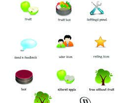 nº 26 pour Icon or Button Design for UglyFruit par Smartdotsteam