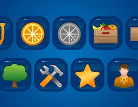 #25 untuk Icon or Button Design for UglyFruit oleh shufanok24