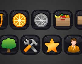 #14 untuk Icon or Button Design for UglyFruit oleh shufanok24