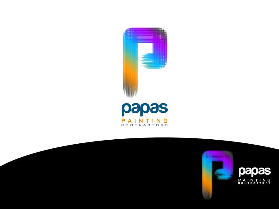 #467 for Logo Design for Papas Painting Contractors by askleo