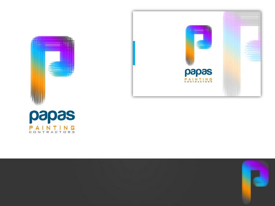 #469 for Logo Design for Papas Painting Contractors by askleo