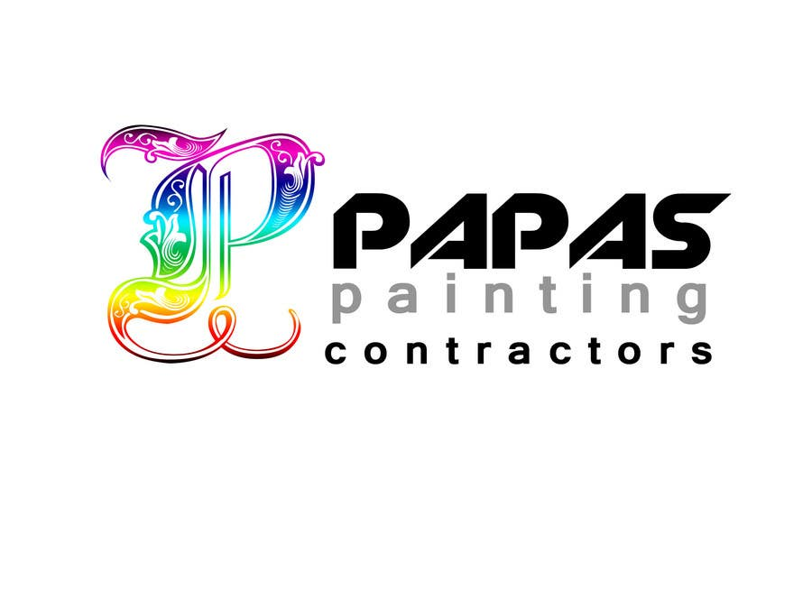 Contest Entry #                                        566                                      for                                         Logo Design for Papas Painting Contractors