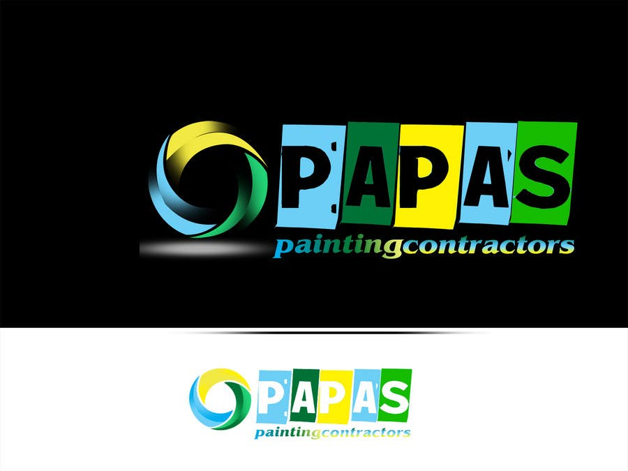 Contest Entry #                                        443                                      for                                         Logo Design for Papas Painting Contractors