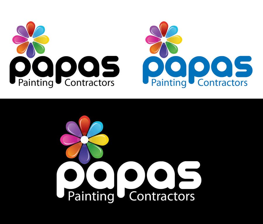 Contest Entry #601 for Logo Design for Papas Painting Contractors