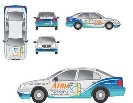#2 untuk Vehicle Wrap design for Atria Systems oleh guppyfish
