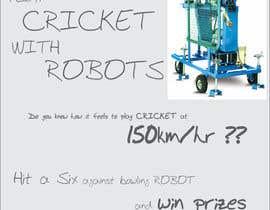 #2 untuk Advertising Poster for Cricket Batting Game Center oleh dsavio