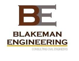 #106 untuk Logo Design for Blakeman Engineering oleh SteveReinhart