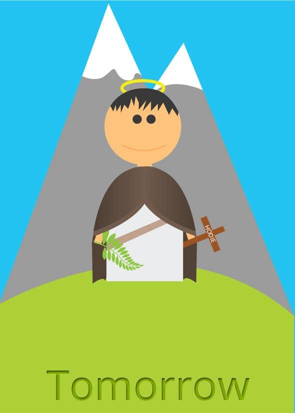 Konkurrenceindlæg #                                        34                                      for                                         Graphic Design for Holy Cards