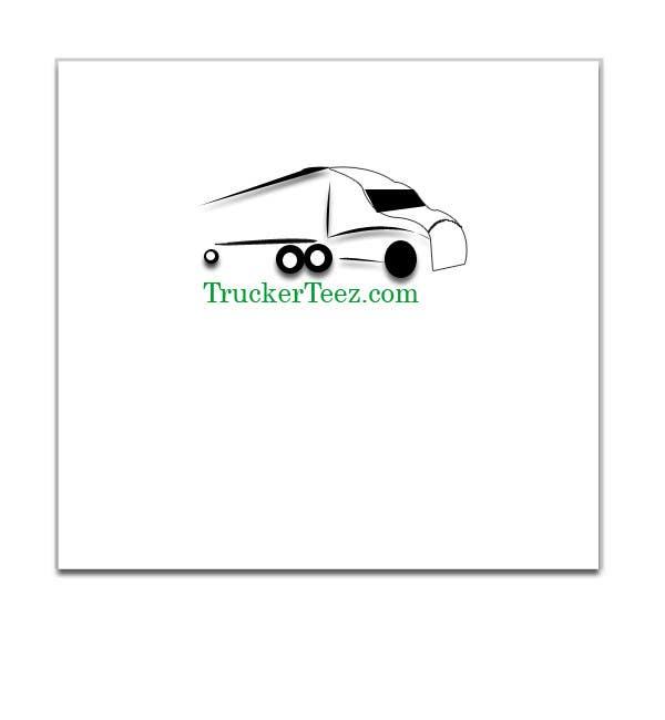 Bài tham dự cuộc thi #                                        23                                      cho                                         Logo Design for TruckerTeez.com