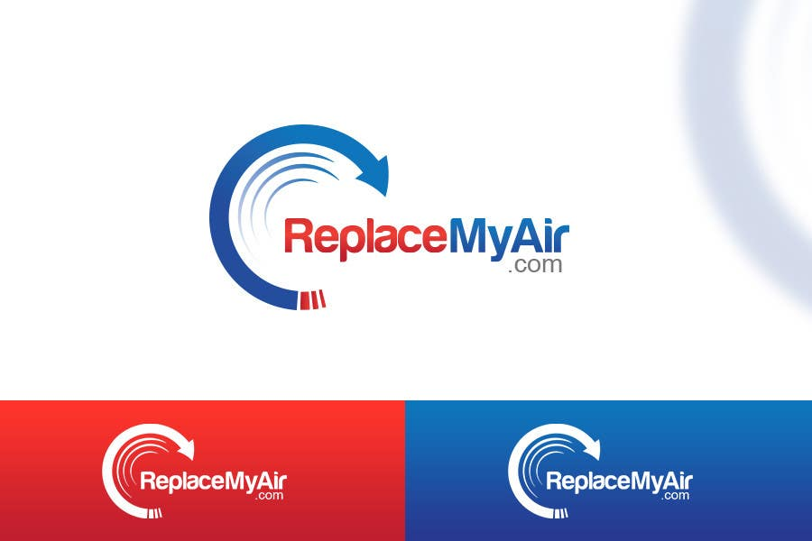 Конкурсная заявка №167 для Logo Design for Replace My Air .com
