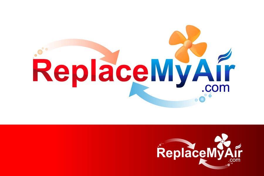 Penyertaan Peraduan #143 untuk Logo Design for Replace My Air .com