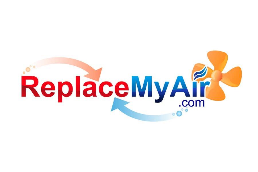 Конкурсная заявка №141 для Logo Design for Replace My Air .com