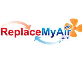 #141 para Logo Design for Replace My Air .com por prasanthmangad