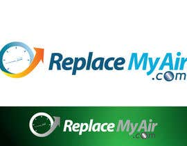 #108 para Logo Design for Replace My Air .com por aquariusstar
