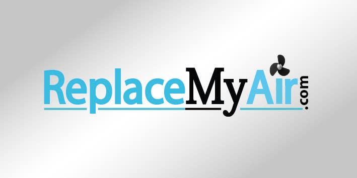 "Intrarea #107 pentru concursul ""Logo Design for Replace My Air .com"""