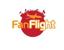 #44 para Design a Logo for Fan Flight por hillaryclint