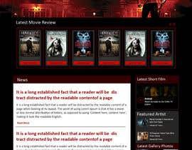 nº 13 pour Design a Website Mockup for ZombDay a Zombie Horror News Website par Josahar