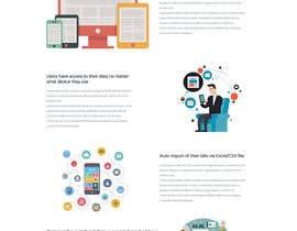 Nro 8 kilpailuun Website Design & Mobile App Mockup käyttäjältä shabcreation