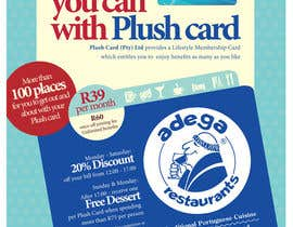 #32 untuk Magazine Advert redesign for Plush Card (Pty) Ltd oleh witelion