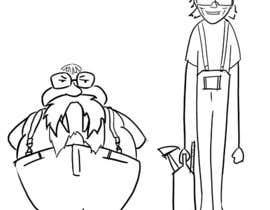 #4 para Design a Cartoon of 2 Professors as Walrus and Carpenter por luistresd