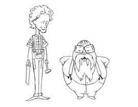 #5 para Design a Cartoon of 2 Professors as Walrus and Carpenter por stants