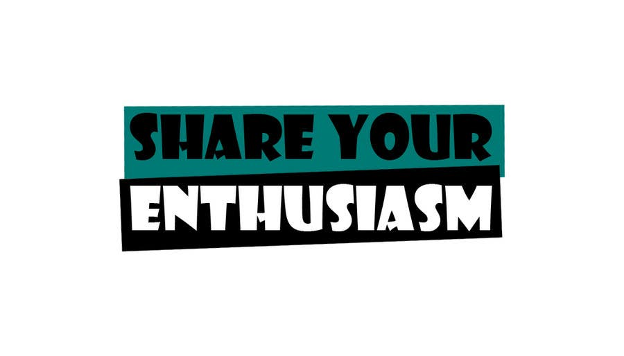 Logo Design for Share your enthusiasm