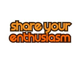 nº 595 pour Logo Design for Share your enthusiasm par winarto2012