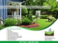 Design an Advertisement for my landscaping company to be in a magazine