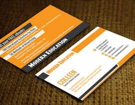 nº 11 pour Design some Business Cards for Modern Education par ccet26