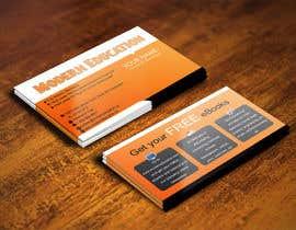 nº 25 pour Design some Business Cards for Modern Education par IllusionG