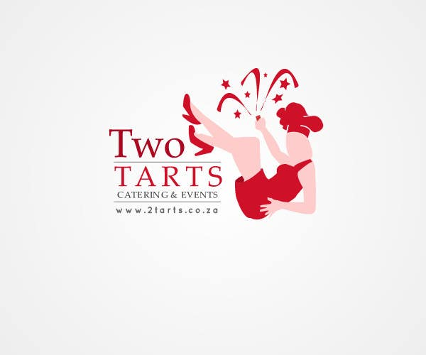 Kilpailutyö #203 kilpailussa Logo Design for 2 Tarts Catering and Events
