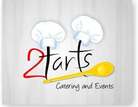 #134 para Logo Design for 2 Tarts Catering and Events por roopendratalekar