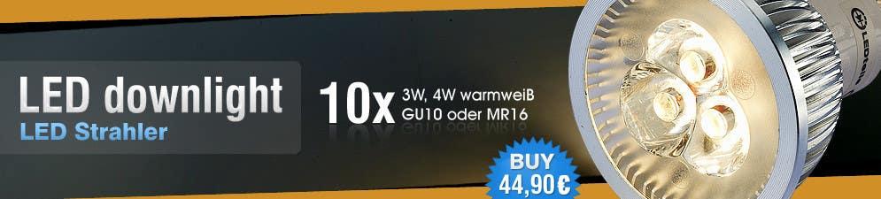 Penyertaan Peraduan #46 untuk Banner Ad Design for LED shop