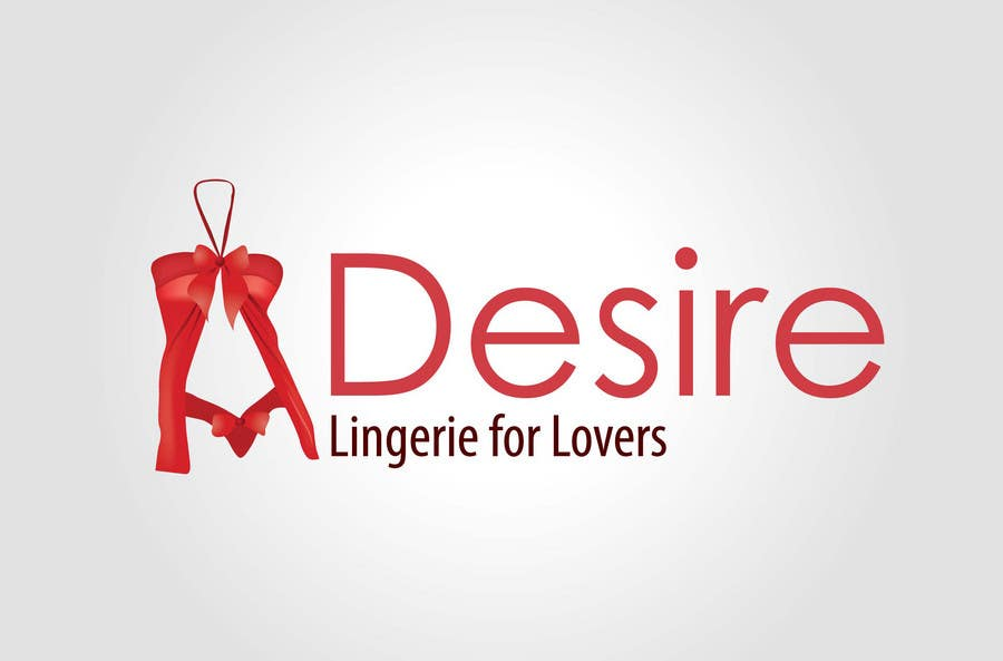 Participación en el concurso Nro.                                        292                                      para                                         Logo Design for Desire Lingerie for Lovers