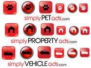 Graphic Design Конкурсная работа №22 для Logo Design for simplyTHEMEWORDads.com (THEMEWORDS: PET, JOB, PROPERTY, BIKE, VEHICLE, DATING)