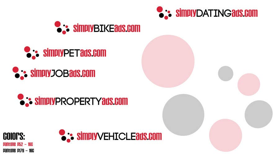 Конкурсная заявка №67 для Logo Design for simplyTHEMEWORDads.com (THEMEWORDS: PET, JOB, PROPERTY, BIKE, VEHICLE, DATING)
