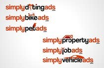 Logo Design Конкурсная работа №29 для Logo Design for simplyTHEMEWORDads.com (THEMEWORDS: PET, JOB, PROPERTY, BIKE, VEHICLE, DATING)
