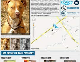 #15 para Website Design for Karma Missing Pet Network por hipnotyka