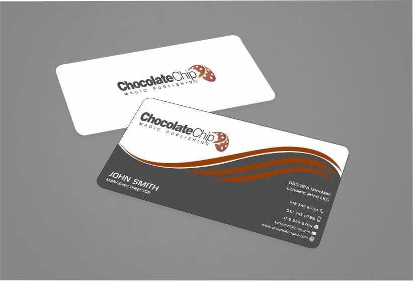 Entry 56 by dfordawson for business cards for chocolate chip magic contest entry 56 for business cards for chocolate chip magic publishing colourmoves