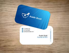 #103 untuk Personal Business Card Design for Retail Pharmacist oleh aries000