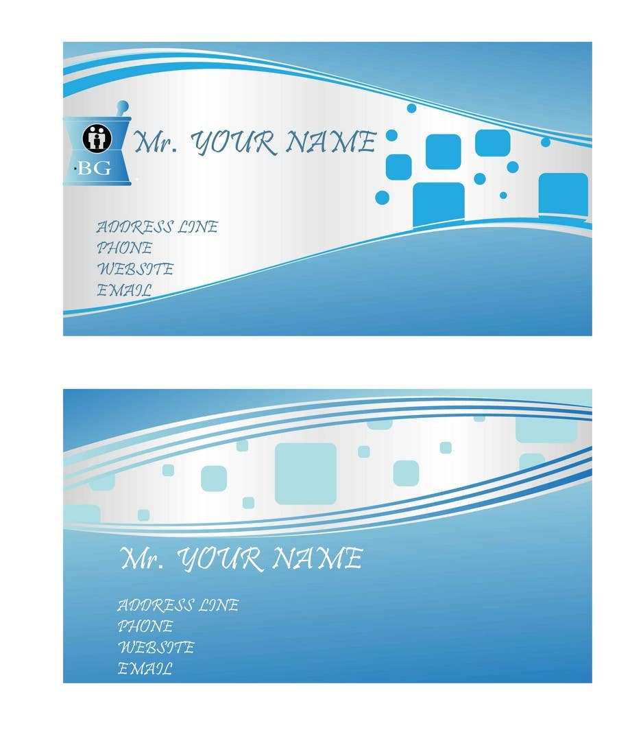 Entry #133 by xrevolation for Personal Business Card Design for ...