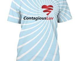 #90 para Design a T-Shirt for Contagious Luv!!! por naimishmakawana