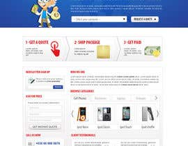 #59 para Website Design for American Buy Back! Buying Electronics Antiques Gold and valuables Online w/Cash por dragnoir