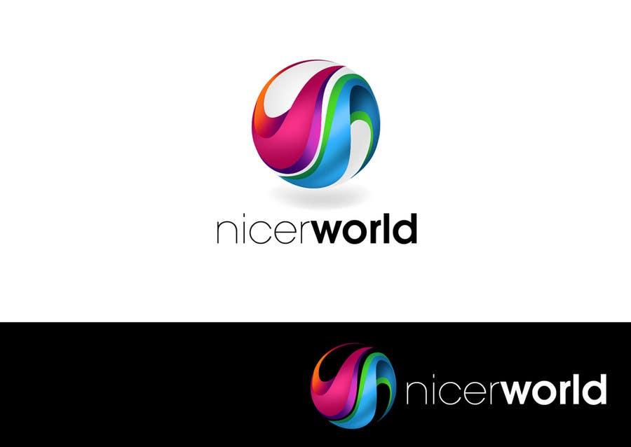 Konkurrenceindlæg #                                        226                                      for                                         Logo Design for Nicer World web site/ mobile app