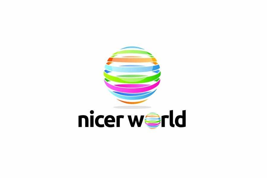 Participación en el concurso Nro.253 para Logo Design for Nicer World web site/ mobile app