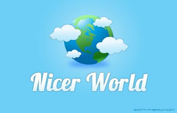 Konkurrenceindlæg #                                        10                                      for                                         Logo Design for Nicer World web site/ mobile app