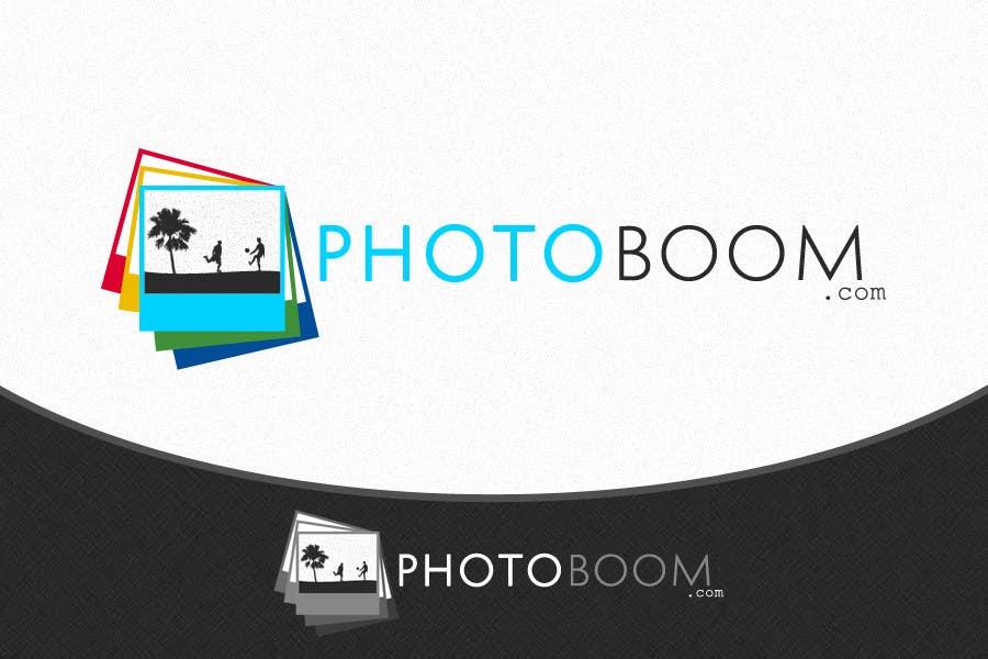 Logo Design for Photoboom.com için 607 numaralı Yarışma Girdisi